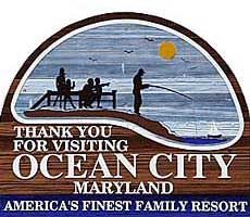ocean City Welcome Sign - Ocean City Real Estate