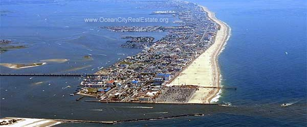 Aerial picture of Ocean City